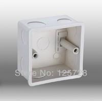 DENOO Wall Switch Bottom Socket,  Back Box for 86*86mm