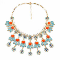 Fashion fashion accessories bohemia multicolour pendant necklace