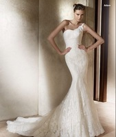 New White/ivory Lace Wedding Dress