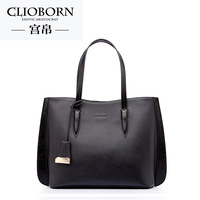 Trend 2014 women's handbag cowhide women's lather-bag bag women's handbag shoulder bag large bag