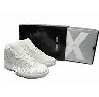 Free shipping EMS,Retro 11 Space jam all white, Retro Concords basketball shoes retail and wholesale