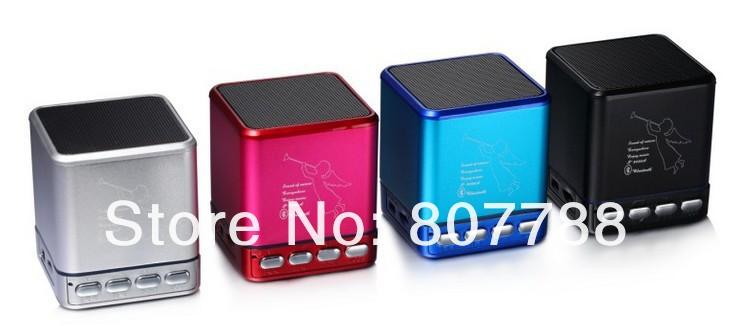 New Speaker Portable Speaker Mini Speaker MP3 Player Angel Mini Speaker with FM,TF card,U-disk Support(China (Mainland))