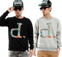 Men's Fashion  Hip hop Style Diamond Bling Sweatshirt  Swag Fresh Hipster Sweater Loose TOPS