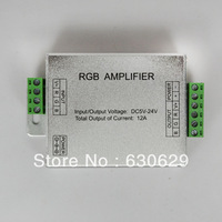 LED RGB Controller ,LED RGB Amplifier;DC5-24V Input, 12A Current used for 3528&5050 SMD RGB LED Strip Light