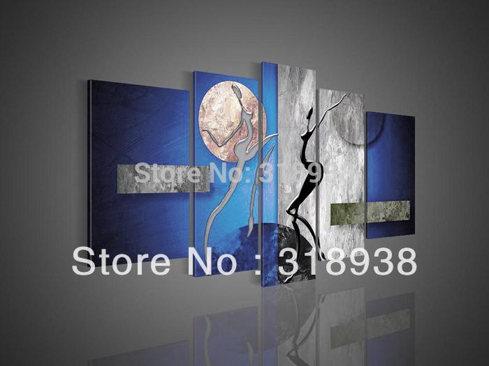 Figuur home decoration kunst aan de muur groep af451 gratis verzending