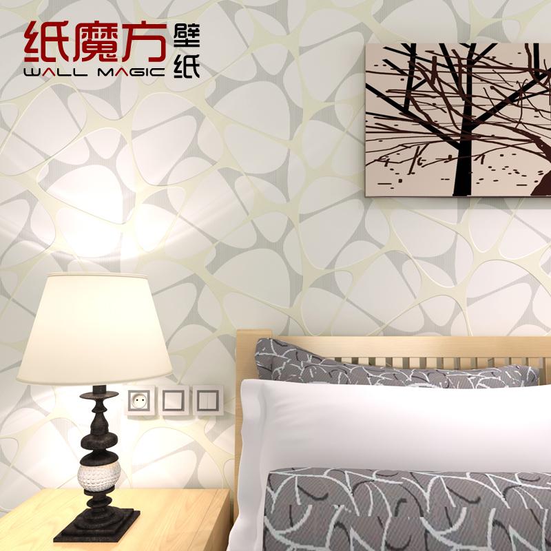 Paper magic cube modern brief irregular geometric figure abstract tv sofa background wall wallpaper(China (Mainland))