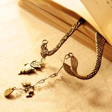 wholesale gold bookmark