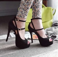 new 2014 fashion platform shoes women pumps women pumps  peep toes