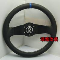 Sparco steering wheel modified steering wheel genuine leather steering wheel automobile race steering wheel 13033