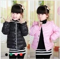 Child size DEESHA boy female child baby winter princess down coat liner children's clothing outerwear