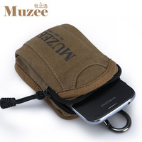 Waist pack wrist length bag arm package mobile phone bag small bag sports bag canvas bag man bag