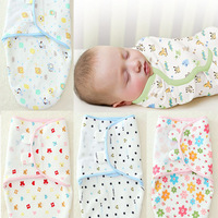 Free shipping 2014 new design baby sleeping sack baby wrap sleeping bag swaddle 100% thick cotton
