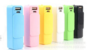2600mah, High Quality new fashion torch flash light battery charger For iPhone,Smartphone,Digital electronic