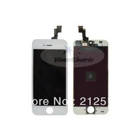 High quality new touch digitizer LCD assembly for iphone 5s display screen for iphone 5s black and white free shipping
