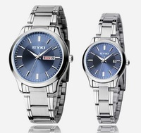 Free shipping EYKI specialty store genuine men wristwatches lovers watch fashion women watch with calendar auto date 8598
