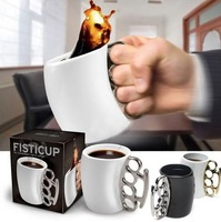 New Mug Ceramic Cup Boxing Cup Personalized Fist Cup[210305]