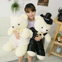 Rabbit Large filmsize marriage doll gift wedding bear plush toy bear doll
