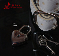 Plolicy f-001 heart padlock small lock adult sex products