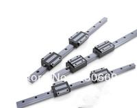 3pcs Linear Guide HR20 -L400mm rail +2pcs HR20CA carriages