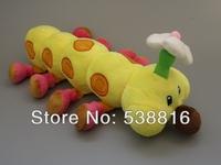 Free Shipping Super Mario Plush Toys 37 cm Wiggler Plush Figure caterpillar Soft Dolls Toys Hot Retail