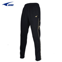 Free shipping Ucan Men soccer training pants legs training suit thermal trousers sports pants