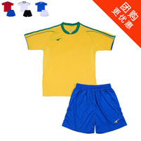 Free shipping Ucan european cup short-sleeve jersey set competition s02404 clothing