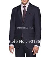 New Arrvial Suit Cool Wool Button, Zip 2 Buttons High re 100% wool Man Suits(Coat+Pants+Vest+Tie+Shirt)ZB146 shiny suit
