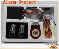 Free shipping Promoion! Motorcycle alarm system Motorcycle Anti-theft Security Alarm System Remote Control Engine Start