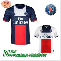 Free shipping European version of the 13 - 14 jersey uniforms soccer jersey short-sleeve training service