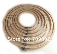 7pcs/set Wooden Cross Stitch Machine Embroidery Hoop Ring 13cm 17cm 20cm 23cm 26cm 30cm 33cm[210318x7]