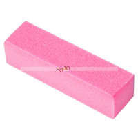 US seller 4PCS/set Buffer Sanding Block File Manicure Pedicure Nail Art Pink