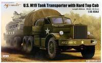 Plastic model kit 63501 1/35 scale U.S.M19 Tank Transporter with Hard Top Cab