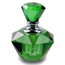 popular crystal glass perfume bottle