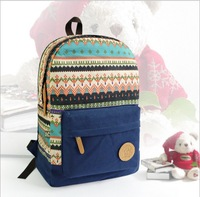 2014 new women preppy style canvas printing backpack Ladies girl student school bag travel Mochila Bolsas Bolsos PB46