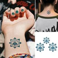 "Waterproof High Quality Temporary Tattoo Sticker  ""Lotus"" -11.5*8.25 cm"