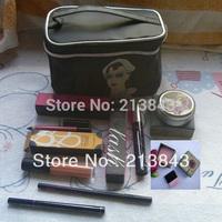 8PCS/Set BLF Makeup Set EyeShadow,Mascara,Sheers Powder,LipGloss,Eyeliner,Cosmetic Bag Christmas Gift Cosmetic Set Free Ship