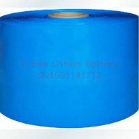 PVC Heat Shrinkable tubing used for battery insulation Diameter 124mm Fold Diameter  195mm W195D124 Heat Shrinkable Sleeve