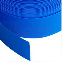 PVC Heat Shrinkable tubing used for battery insulation Diameter 40mm Fold Diameter  64mm W64D40 Heat Shrinkable Sleeve