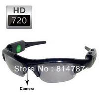 Camera Glasses Mini DV DVR Sports Video Camera Wireless Sun Glasses Camera