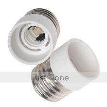 2PCS LED E27 para E14 luz lâmpada lâmpadas conversor adaptador(China (Mainland))