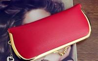 restoration lady's clutch wallets candy color handbag korean purse free shipping