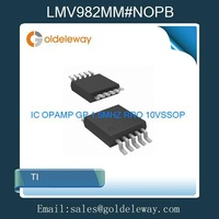 53pcs=1 Lot LMV982MM#NOPB TI IC OPAMP GP 1.5MHZ RRO 10VSSOP