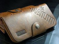 10pcs/lot Brand New Bailini High Quality Men's Leather Wallet Long Cowboy Wallet Vintage