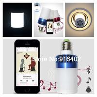 Wireless E27 LED Light Bluetooth Audio Speaker Music Playing Lighting Bulb