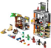 Bela Building Blocks Teenage Mutant Turtles Ninja Assembling Blocks Hot Toy for Children Compatible Bricks Gift