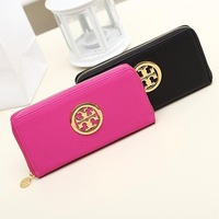 The new 2014 han edition women's long zipper wallet phones lady hand bag