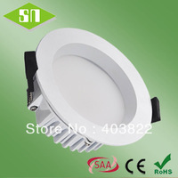free shipping dimmable 13w smd 5630 warm white round led down light
