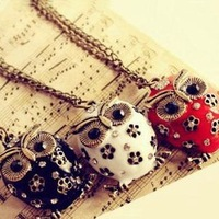 Owl necklace female long design accessories necklace female pendant chain hoist accessories decoration