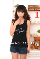 New 2014 Free Shipping Promotions Women Vest Fashion Leisure Design For Women's Vest Tanks Large Size
