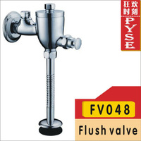 Free shipping FV048 brass chrome urinal flusher flush valve